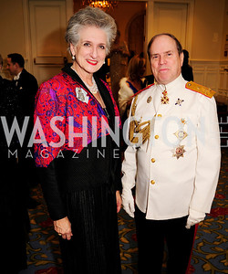 Countess Suzanne Tolstoy,Charles Potter,January 11,2013,The 43rd Russian  New Year's Eve Gala,Kyle Samperton