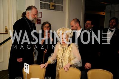 Father  Victor Potapov,Princess  Selene Obolensky,January 11,2013,The 43rd Russian  New Year's Eve Gala,Kyle Samperton