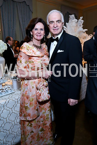 Agnes Aerts and Belgian Amb. Jan Matthysen. Photo by Tony Powell. 45th Annual Meridian Ball. October 18, 2013