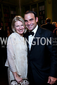 Kristin Solheim and Manny Ortiz. Photo by Tony Powell. 45th Annual Meridian Ball. October 18, 2013