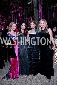 Pilar O'Leary, Laura Urrutia and Amb. Leonor Urrutia, Mary Streett. Photo by Tony Powell. 45th Annual Meridian Ball. October 18, 2013