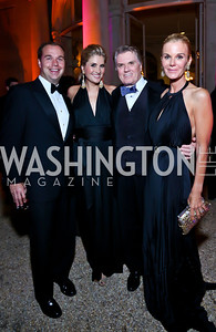 Matt Bronczek and Ashley Taylor Bronczek, Jack and Susanna Quinn. Photo by Tony Powell. 45th Annual Meridian Ball. October 18, 2013