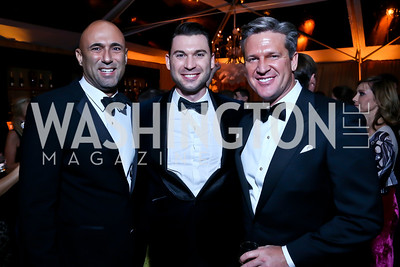 Steve Gerber, Matthew Hebert, Jim Rayborn. Photo by Tony Powell. 45th Annual Meridian Ball. October 18, 2013