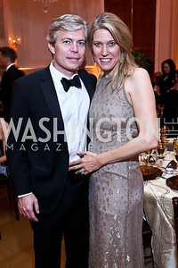 Chris and Michelle Olson. Photo by Tony Powell. 45th Annual Meridian Ball. October 18, 2013