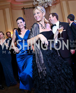 Karina Homme, Allison Priebe Brooks. Photo by Tony Powell. 45th Annual Meridian Ball. October 18, 2013