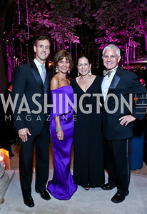 Rob and Capricia Marshall, Lee Satterfield and Patrick Steele. Photo by Tony Powell. 45th Annual Meridian Ball. October 18, 2013