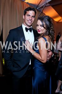 Giuseppe Lanzone, Fran Holuba. Photo by Tony Powell. 45th Annual Meridian Ball. October 18, 2013