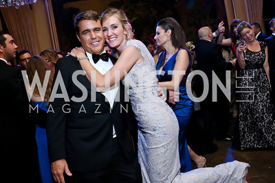Fred and Britlan Malek. Photo by Tony Powell. 45th Annual Meridian Ball. October 18, 2013