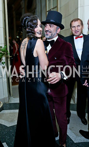 Rose DiFerdinando, Ismail Tekin. Photo by Tony Powell. 45th Annual Meridian Ball. October 18, 2013