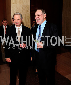 Sen.John Hoeven,Rep.Don Young,February 12,2013,The Atlantic  and National Journal Toast to the 113th Congress,Kyle Samperton