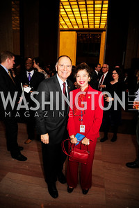 Rep. Bill Enyart,Annette Eckert,February 12,2013,The Atlantic  and National Journal Toast to the 113th Congress,Kyle Samperton