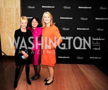 Linda Douglass,Rep.Ann Kuster,Nini Johnson,February 12,2013,The Atlantic  and National Journal Toast to the 113th Congress,Kyle Samperton
