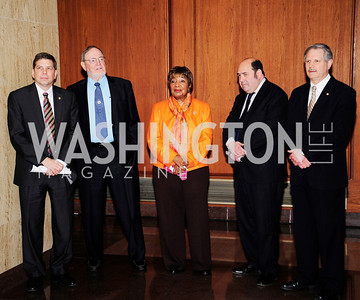 Sen..Mark Begich,Rep.Don Young,Rep.Eddie Bernice Johnson, Matt Cooper,Sen,John Hoeven,February 12,2013,The Atlantic  and National Journal Toast to the 113th Congress,Kyle Samperton