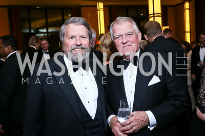 Glen Howard, Dick Snowden. Photo by Tony Powell. 2013 Choral Arts Holiday Gala. Kennedy Center. December 16, 2013