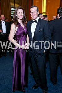 Tori and Steve Lombardo. Photo by Tony Powell. 2013 Choral Arts Holiday Gala. Kennedy Center. December 16, 2013