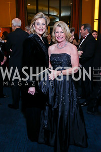 Ann Kenkel, Charlotte Buxton. Photo by Tony Powell. 2013 Choral Arts Holiday Gala. Kennedy Center. December 16, 2013