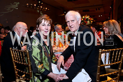 Sheila and John Mooney. Photo by Tony Powell. 2013 Choral Arts Holiday Gala. Kennedy Center. December 16, 2013