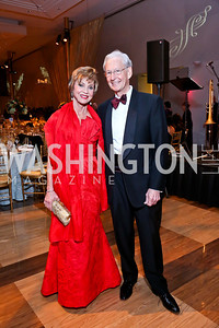 Jean and Don Wolf. Photo by Tony Powell. 2013 Choral Arts Holiday Gala. Kennedy Center. December 16, 2013