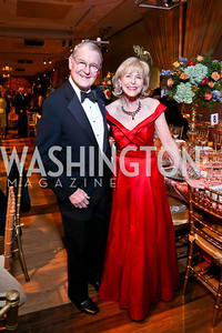 William and Lynda Webster. Photo by Tony Powell. 2013 Choral Arts Holiday Gala. Kennedy Center. December 16, 2013