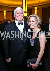 Rick and Molly Rolandi. Photo by Tony Powell. 2013 Choral Arts Holiday Gala. Kennedy Center. December 16, 2013