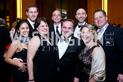 Michael Perez and the Axseum Solutions Team. Photo by Tony Powell. 2013 Choral Arts Holiday Gala. Kennedy Center. December 16, 2013