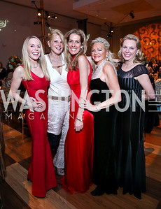 Cindy Jones, Holly Muldoon, Janet Phillips, Deborah Sigmund, Laura Guarisco. Photo by Tony Powell. 2013 Choral Arts Holiday Gala. Kennedy Center. December 16, 2013