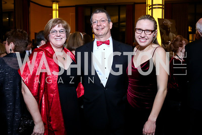 Laura Pruitt, Scott Pritchett, Jennifer Dilzell. Photo by Tony Powell. 2013 Choral Arts Holiday Gala. Kennedy Center. December 16, 2013
