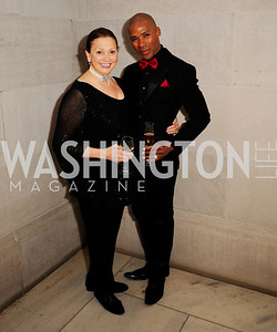 Lizzette Corro,Aaron Jackson,April 19,2013, The Corcoran Ball,Kyle Samperton