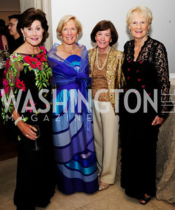 Sally Chapotan,Janet Lindgren,Laurie Coughlin,Sally Webster,April 19,2013, The Corcoran Ball,Kyle Samperton