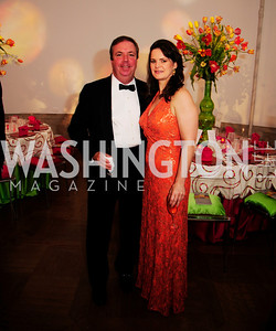 Chip Stelljes,Suzanne Duvall,April 19,2013, The Corcoran Ball,Kyle Samperton
