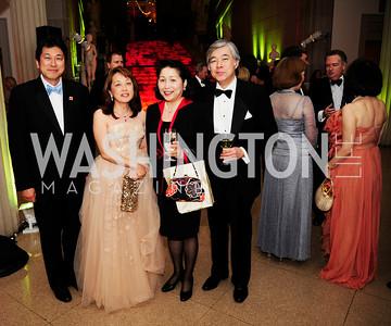 Ryuji Ueno,Sachiko Kuno,Sakie Fukushima,Glen Fukuhima,April 19,2013, The Corcoran Ball,Kyle Samperton