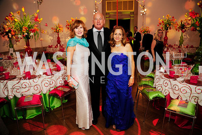 Kathleen Golden,Terry Golden,Logan MacKethan,April 19,2013, The Corcoran Ball,Kyle Samperton