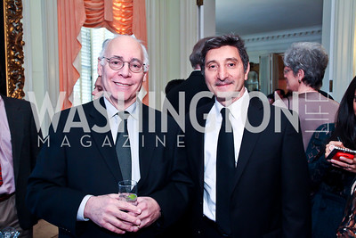 Architects Milton Shinberg, Salo Levinas. Photo by Tony Powell. The FOCUS Gala honoring Malcolm Peabody. Washington Club. March 21, 2013