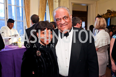 Buffy and Tony Miles. Photo by Tony Powell. The FOCUS Gala honoring Malcolm Peabody. Washington Club. March 21, 2013