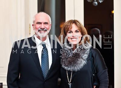 "Bob and Charlotte Kettler. Photo by Tony Powell. ""The Good Son"", the Ray Mancini Story Film Screening. Marwood. January 31, 2013"