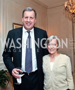 """Richard and Deborah Patrick. Photo by Tony Powell. """"The Good Son"""", the Ray Mancini Story Film Screening. Marwood. January 31, 2013"""