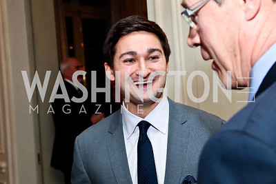 "Zach Leonsis. Photo by Tony Powell. ""The Good Son"", the Ray Mancini Story Film Screening. Marwood. January 31, 2013"