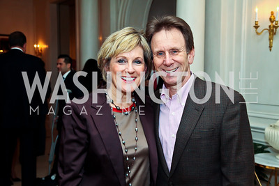 "Marcy and Neil Cohen. Photo by Tony Powell. ""The Good Son"", the Ray Mancini Story Film Screening. Marwood. January 31, 2013"