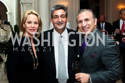 "Lynn and Ted Leonsis, Ray Mancini. Photo by Tony Powell. ""The Good Son"", the Ray Mancini Story Film Screening. Marwood. January 31, 2013"