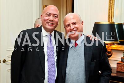 """Jimmy Lynn, Mark Lerner. Photo by Tony Powell. """"The Good Son"""", the Ray Mancini Story Film Screening. Marwood. January 31, 2013"""