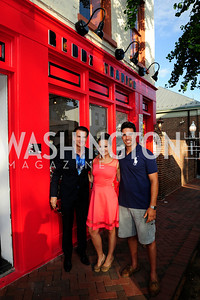 Vincent DePaul,Fran Holuba,Giuseppe Lazone,June 27,2013,The Grand Opening of Reddz Trading Georgetown,Kyle Samperton