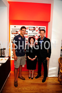 Giuseppe Lanzone, Wendy Ezrailson, Vincent DePaul,June 27,2013,The Grand Opening of Reddz Trading Georgetown,Kyle Samperton