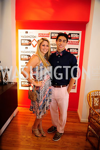 Nicole Glazer,Patrick ReyesJune 27,2013,The Grand Opening of Reddz Trading Georgetown,Kyle Samperton