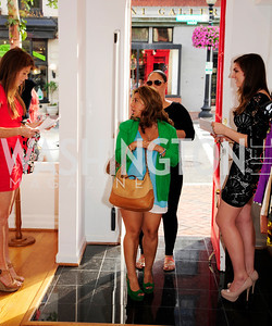 Alida Sanchez,Christine Brooks-Cropper,June 27,2013,The Grand Opening of Reddz Trading Georgetown,Kyle Samperton