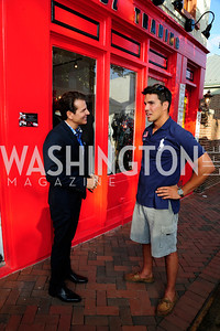 Vincent DePaul,Giuseppe Lazone,June 27,2013,The Grand Opening of Reddz Trading Georgetown,Kyle Samperton