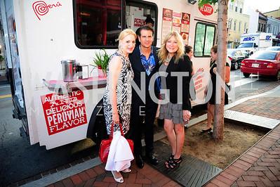 Christine Warnake,Vincent DePaul,June Silverberg,June 27,2013,The Grand Opening of Reddz Trading Georgetown,Kyle Samperton