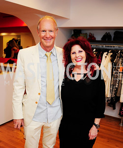 Stuart McLean,Wendy  Erailson,June 27,2013,The Grand Opening of Reddz Trading Georgetown,Kyle Samperton