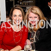 """Elise Labott, Denise Couture. Photo by Tony Powell. """"The New Jewish Table"""" Passover Seder. Equinox. March 25, 2013"""