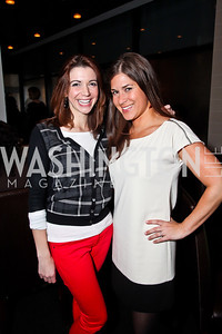 "Rachel Pryor, Lauren DeSantis. Photo by Tony Powell. ""The New Jewish Table"" Passover Seder. Equinox. March 25, 2013"