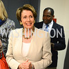 Nancy Pelosi, The New Republic Office Opening Party.  Friday April 26. Photo by Ben Droz.